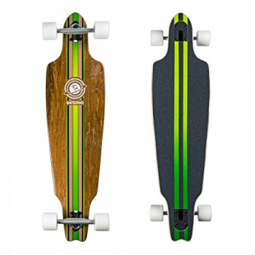 Saterno Longboard 37'' Drop-Through Skateboard - 1
