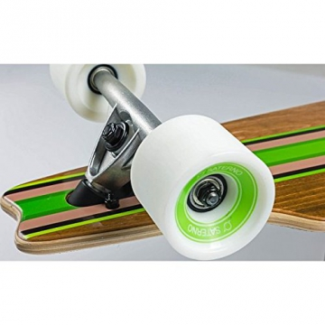 "Saterno Longboard 37"" Drop-Through Skateboard"