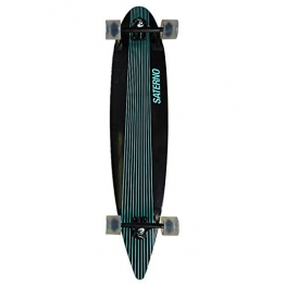 Saterno Mint Stripes Longboard - 1