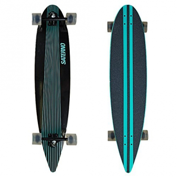 Saterno Mint Stripes Longboard