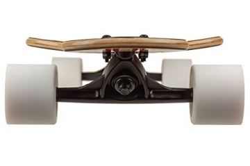 Saterno Red Leaf Double Down Dark 9.8″ x 37″ Komplett Longboard