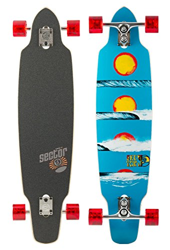 Sector 9 Horizon Sidewinder Skateboard 39 x 9.25 blue - 1