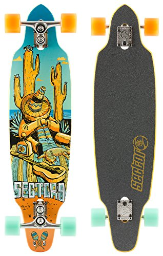 Sector 9 Longboard Tempest Complete, One size, SF143 - 1