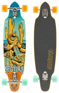 Sector 9 Longboard Tempest Complete, One size, SF143
