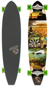 Sector 9 Longboard Voyager Complete, One size, CF141 - 1