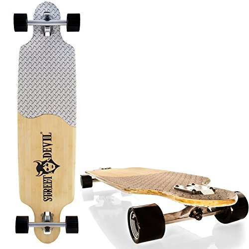 streetdevil 100 bambus allround longboard skateboard. Black Bedroom Furniture Sets. Home Design Ideas
