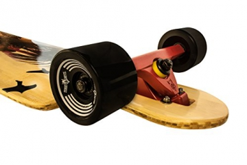 "Streetdevil 100% Bambus Allround Longboard/Skateboard ""Surfing Hawaii"""