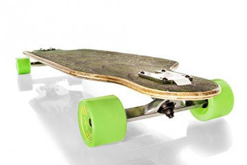 "Streetdevil 100% Bambus Downhill Dropthrough Carving/Freeride Longboard/Skateboard ""SNAKE"""
