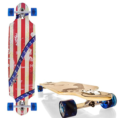 streetdevil 100 bambus longboard skateboard usa. Black Bedroom Furniture Sets. Home Design Ideas