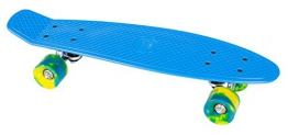 Streetsurfing Beach Board Retro Skateboard, Ocean Breeze Blue, 500214 - 1