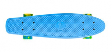 Streetsurfing Beach Board Retro Skateboard, Ocean Breeze Blue, 500214
